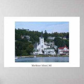 Mackinac Island MI Poster