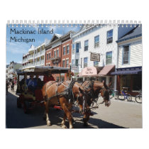 Mackinac Island, Michigan Calendar