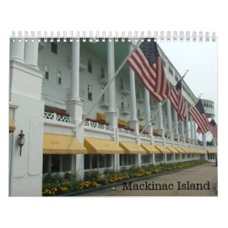 Mackinac Island Michigan Calendar