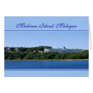 Mackinac Island, Michigan, Card