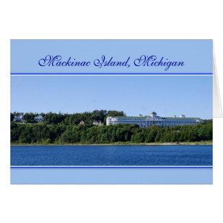 Mackinac Island Michigan Card