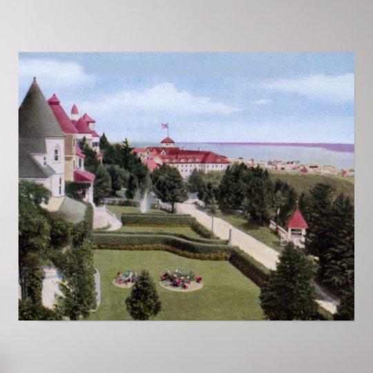 Mackinac Island Michigan Grand Hotel Poster