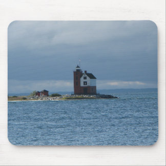 Mackinac Island, Michigan lighthouse mouse pad