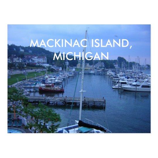 MACKINAC ISLAND, MICHIGAN POST CARD