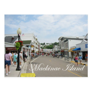 Mackinac Island Postcard
