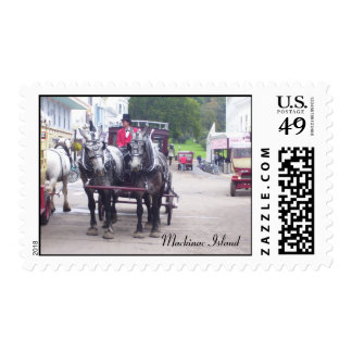 Mackinac Island Series Postage Stamps
