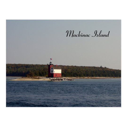 Mackinac Island Series Postcard