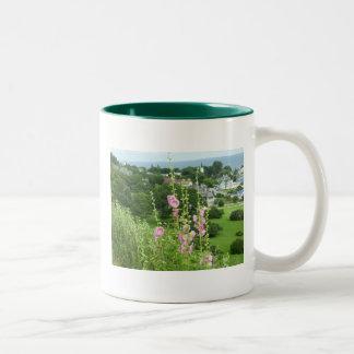 Mackinac Island Series Two-Tone Coffee Mug