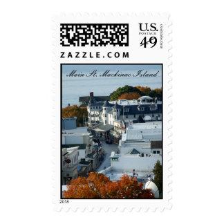 Mackinac Island Stamp