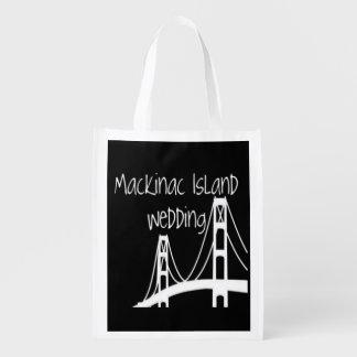 Mackinac Island Wedding Grocery Bag