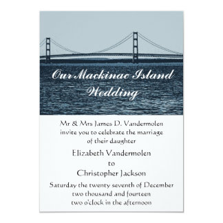 Mackinac Island Wedding Invitation