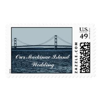 Mackinac Island Wedding Postage