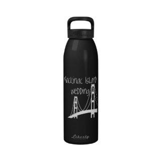 Mackinac Island Wedding Drinking Bottle