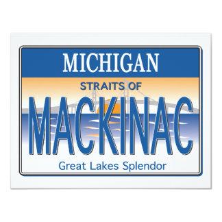 Mackinac License Card