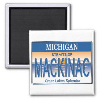 Mackinac License Magnet