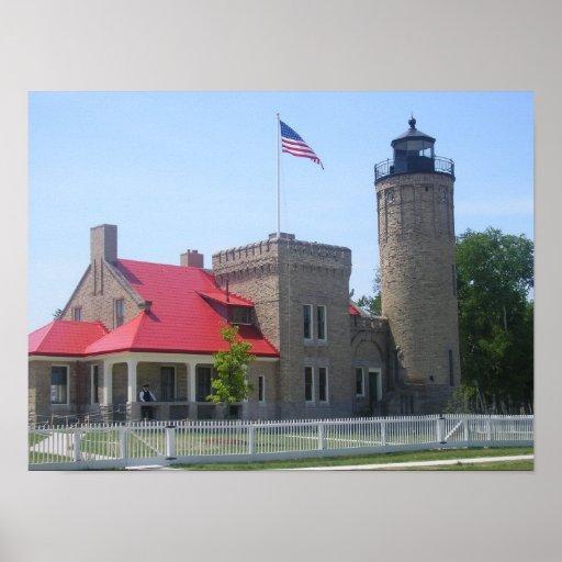 Mackinac Lighthouse Posters