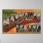 Mackinac, Michigan - escenas grandes de la letra Poster