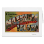 Mackinac, Michigan - escenas grandes de la letra Tarjeton