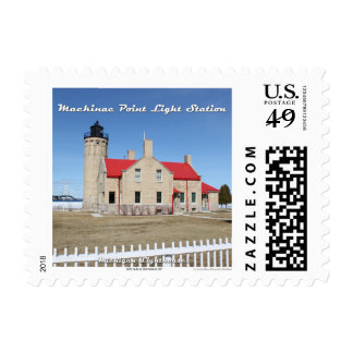 Mackinac Point Light Station: 1st Class Stamp