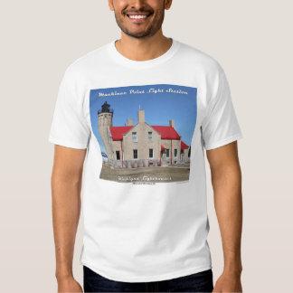 Mackinac Point Light Station T-Shirt