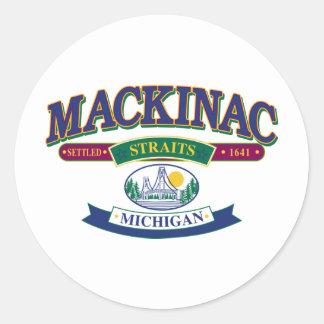 Mackinac-refrigerador-SVG [Conver Pegatina Redonda
