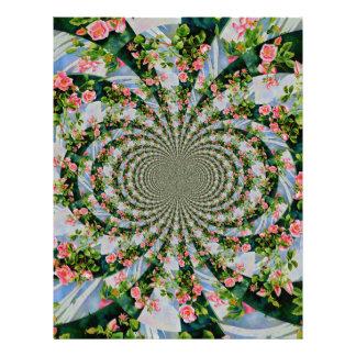 Mackinac Rose mandala Letterhead