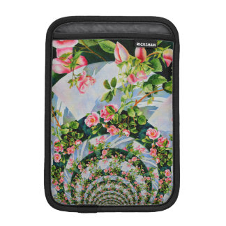 Mackinac rose mandala sleeve for iPad mini