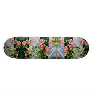 Mackinac Rose Skateboard Deck