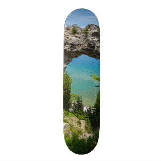 Mackinacs Arch Rock Skateboard