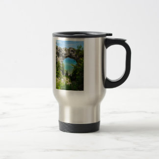 Mackinacs Arch Rock Travel Mug