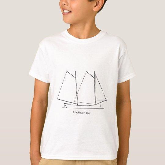 Mackinaw Boat T-Shirt