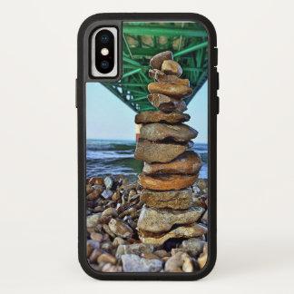 Mackinaw Boulders on the Beach Iphone X Phone Case
