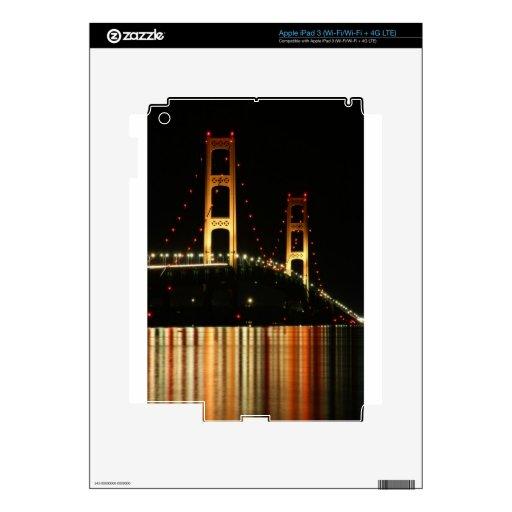 Mackinaw Bridge iPad 3 Skin
