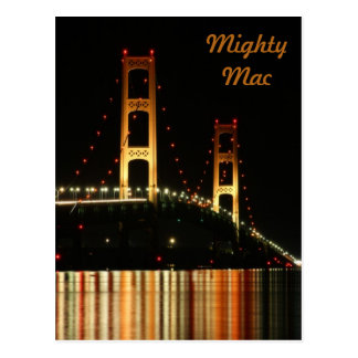 Mackinaw Bridge Postcard