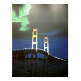 Mackinaw Bridge Postcard
