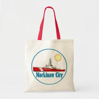 Mackinaw City Michigan Canvas Bag