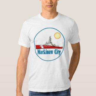 Mackinaw City Michigan Tee Shirt