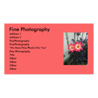 Mackinaw Flowers Buisness Card Double-Sided Standard Business Cards (Pack Of 100)