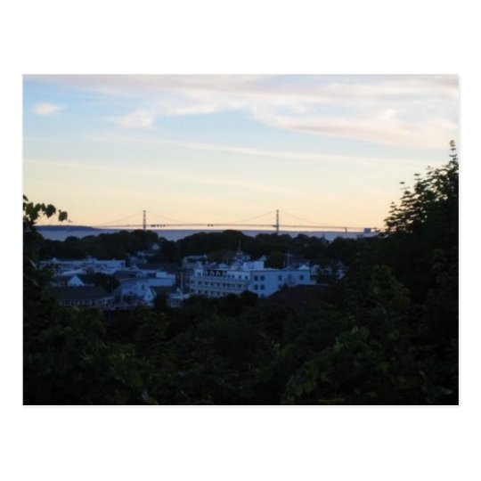 Mackinaw Island, MI Postcard