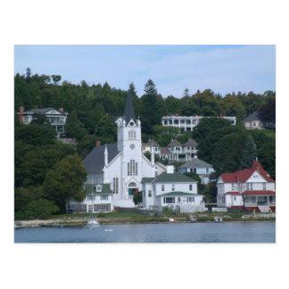Mackinaw Island Postcard
