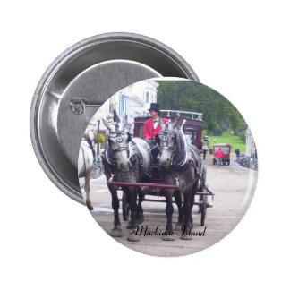 Mackinaw Island Series Pinback Button