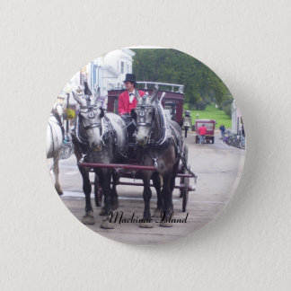 Mackinaw Island Series Pinback Button