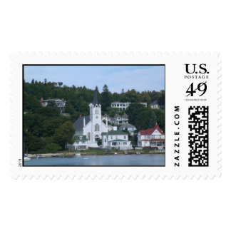 Mackinaw Island Stamp - also known as Mackinac