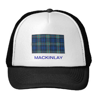 MACKINLAY FAMILY TARTAN TRUCKER HAT