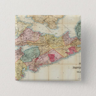 Mackinlay's map of the Province of Nova Scotia 2 Pinback Button