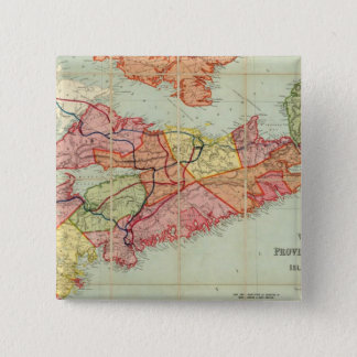 Mackinlay's map of the Province of Nova Scotia 4 Pinback Button