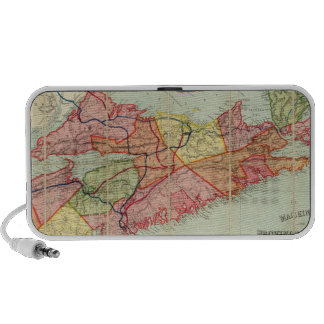 Mackinlay's map of the Province of Nova Scotia 4 Portable Speaker