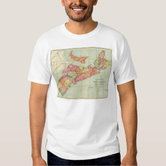 Mackinlay's map of the Province of Nova Scotia 4 Shirts