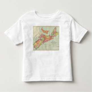 Mackinlay's map of the Province of Nova Scotia 4 T Shirts