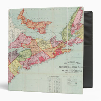 Mackinlay's map of the Province of Nova Scotia Binder